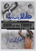 A.C. Green, Lonnie Shelton