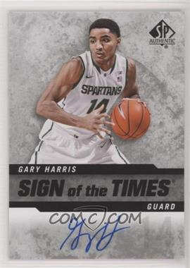 2014-15 SP Authentic - Sign of the Times #SOT-HA - Gary Harris