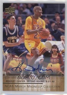 2014-15 Upper Deck NCAA March Madness Collection - [Base] - Autograph [Autographed] #HM-2 - Harold Miner