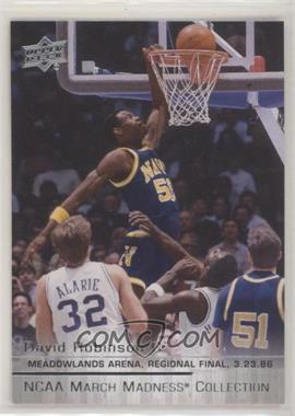 2014-15 Upper Deck NCAA March Madness Collection - [Base] #DR-2 - David Robinson (Short Print)