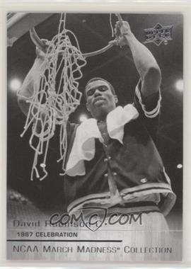 2014-15 Upper Deck NCAA March Madness Collection - [Base] #DR-3 - David Robinson (Short Print)