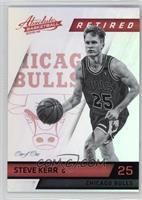 Retired - Steve Kerr /1
