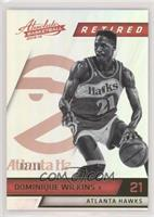 Retired - Dominique Wilkins #/10