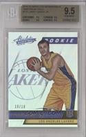Rookies - Larry Nance Jr. /10 [BGS 9.5 GEM MINT]