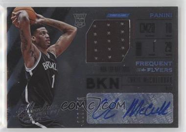 2015-16 Panini Absolute - Freshman Flyer Jersey Autographs #FJA-CM - Chris McCullough /149