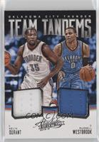 Kevin Durant, Russell Westbrook #/99