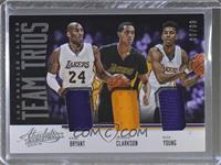 Jordan Clarkson, Kobe Bryant, Nick Young /99