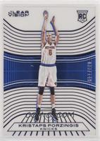 Rookies - Kristaps Porzingis (White Jersey Variation) #/149