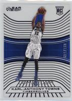 Rookies - Karl-Anthony Towns (White Jersey Variation) #/149