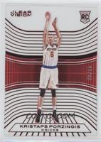 Rookies - Kristaps Porzingis (White Jersey) /99
