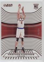 Rookies - Kristaps Porzingis (White Jersey Variation) #/99