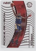 Rookie Revision - Chris Webber (Base) [EX to NM] #/99
