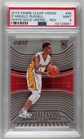 Rookies - D'Angelo Russell (Base) [PSA 9 MINT] #/99