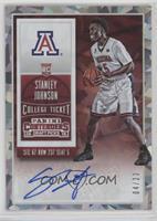 College Ticket Autographs - Stanley Johnson #/23
