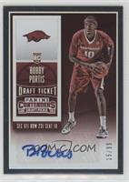 College Ticket Autographs - Bobby Portis #/99