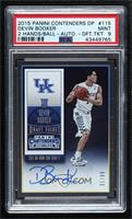 College Ticket Autographs - Devin Booker [PSA 9 MINT] #/99