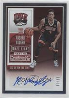 College Ticket Autographs - Rashad Vaughn #/99