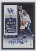 College Ticket Autographs - Willie Cauley-Stein #/99