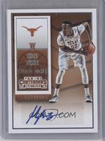 College Ticket Autographs - Myles Turner