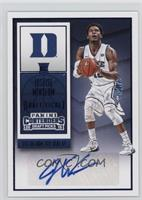 College Ticket Autographs - Justise Winslow