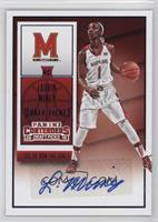 College Ticket Autographs - Laurin Mincy