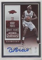 College Ticket Autographs - Bobby Portis /99