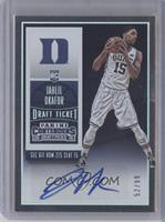 College Ticket Autographs - Jahlil Okafor /99