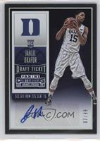 College Ticket Autographs - Jahlil Okafor #/99