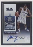 College Ticket Autographs - Kevon Looney /99