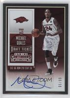 College Ticket Autographs - Michael Qualls /99