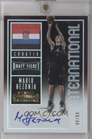 International Autographs - Mario Hezonja /99