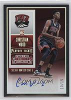 College Ticket Autographs - Christian Wood /15