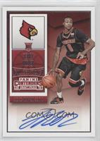 College Ticket Autographs - Terry Rozier
