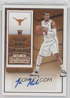 College Ticket Autographs - Jonathan Holmes [EX to NM]