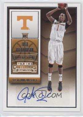 2015-16 Panini Contenders Draft Picks - [Base] #152 - College Ticket Autographs - Josh Richardson