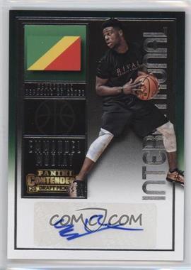 2015-16 Panini Contenders Draft Picks - [Base] #165 - International Autographs - Emmanuel Mudiay