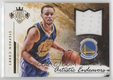 2015-16 Panini Court Kings - Artistic Endeavors Jerseys #27 - Stephen Curry /299