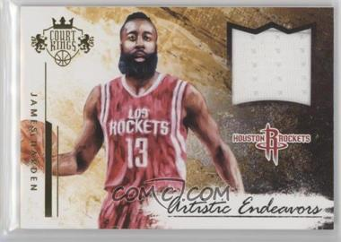 2015-16 Panini Court Kings - Artistic Endeavors Jerseys #29 - James Harden /299
