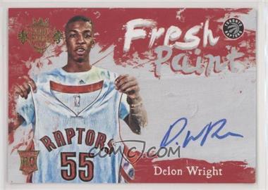 2015-16 Panini Court Kings - Fresh Paint #FP-DW - Delon Wright