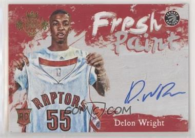 2015-16 Panini Court Kings - Fresh Paint #FP-DW - Delon Wright