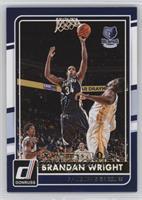 Brandan Wright [Noted] #/5