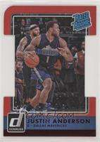 Rated Rookies - Justin Anderson #/99