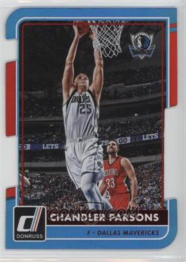 2015-16 Panini Donruss - [Base] - Inspirations Die-Cut #43 - Chandler Parsons /75