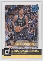 Rated Rookies - Rondae Hollis-Jefferson /10