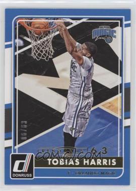 2015-16 Panini Donruss - [Base] - Rebounds #9 - Tobias Harris /63