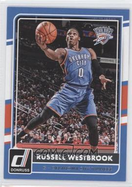 2015-16 Panini Donruss - [Base] #31 - Russell Westbrook
