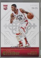 Rookies - Delon Wright [Noted] #/25