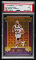 LeBron James [PSA 9 MINT] #/60