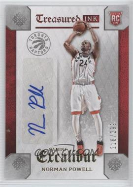 2015-16 Panini Excalibur - Treasured Ink #TI-NPW - Norman Powell /299