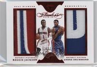 Andre Drummond, Reggie Jackson /14